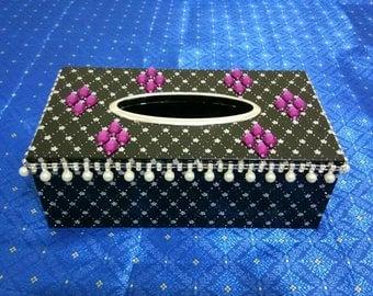 BLACK SERIES jewelry tissue box
