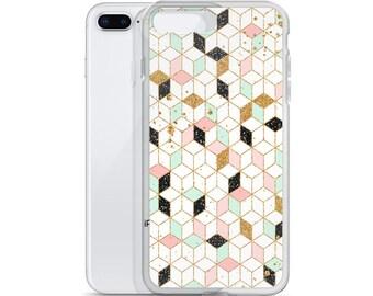 iPhone Case  Gradient Cubes, Cubes Phone Case, Cubes iPhone Case, Cubes Case, Cubes iPad, Cubes Pattern, Cubes Laptop, Cubes Design