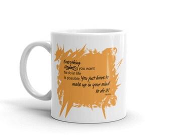 Everything Not Anything Mug