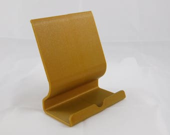 Gold Tablet Stand