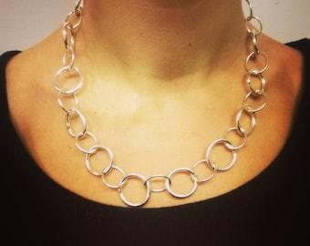 Selene Silver Chain