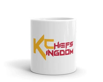 KC Chiefs Kingdom Coffee Mug