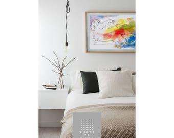 Print Nuda. Printable art, instant Download,Poster,home decor, Bedroom decor and living room decor,italian Prints, contemporary art.
