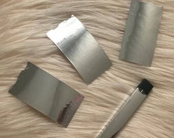 silver chrome Juul skin Juul sticker Juul decal Juul wrap