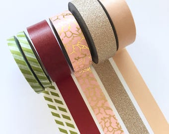 Washi Tape Set: FALL (Season Collection)