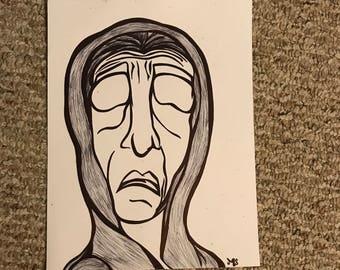 Wise Woman - original