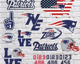 New England Patriots Svg, new england patriots vector, new england patriots clipart, new england patriots logo