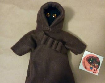 Plush plushie fleece star wars jawa doll utinni utini