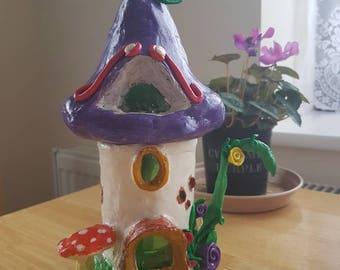 Handcrafted Tea Mushroom House