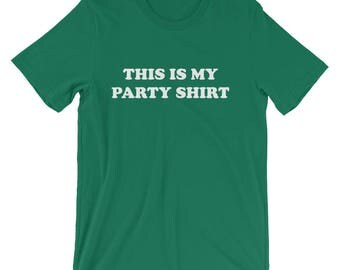 This is My Party Shirt Short-Sleeve T-Shirt