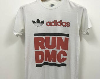 Vintage 80s ADIDAS RUN DMC my adidas shirt
