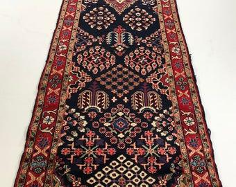 """001384 Moud Oriental Persian Runner Rug 2'7""""x10'"""