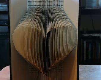 Bookart heart