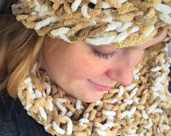 Winter Scarf and Hairband