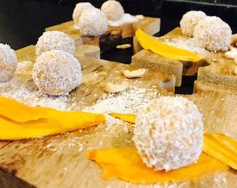 Healthy Sweet Treats: MANGO & COCONUT BALLS