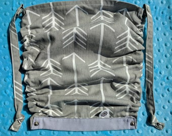 Flat Hood for the Tula baby carrier - Fabric Choices 64 - 126