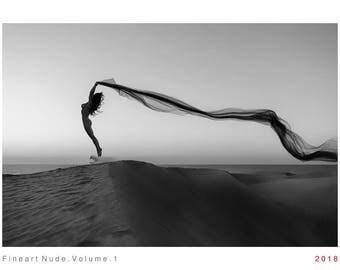Fine Art Nude Calendar Volume 1 in black and white