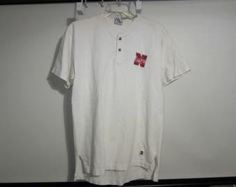 Vintage Nebraska Huskers button up shirt Mens Medium