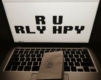 R U RLY HPY Zine
