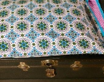 Reversible cotton pillow case