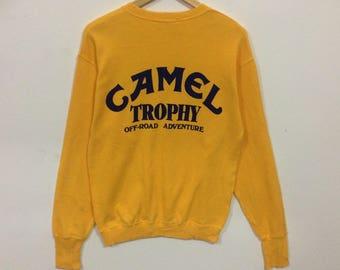 Rare!!! Vintage!!! Camel trophy sweatshirt