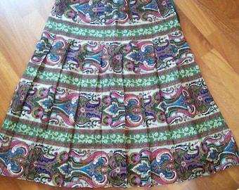 Lovely A-Line midi skirt