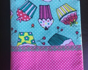 Handmade Adjustable Textile Book Cover