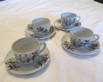 Mini tea cup set, occupied Japan