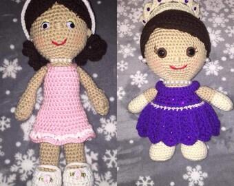 Crochet Amigurimi Dolls
