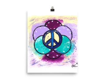 Peace Flower (Poster)
