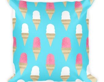 Ice Cream Lover Pillow