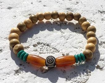 Third eye, eye of providence, chakra, bullseye bracelet