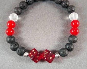 LUCKY ONE 2 men's diffuser bracelet