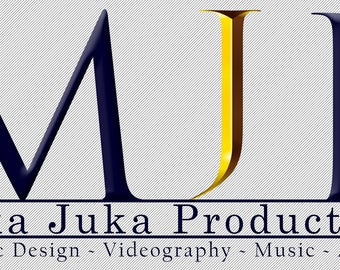MukaJuka Productions logo Canvas