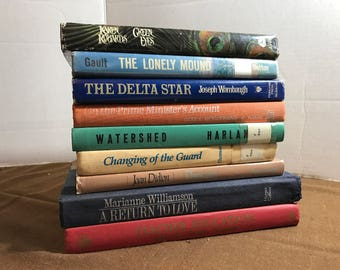 Vintage Book Collection Lot Of 8