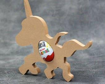 Unicorn shaped easter egg holders