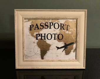 Vintage Travel Themed Party Signs
