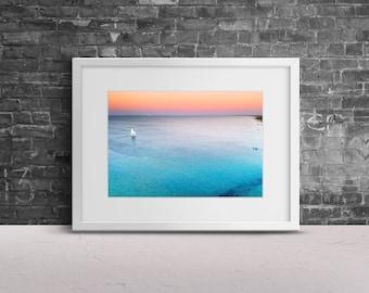 Digital Download, Wave Print, Sea Wall Art, Surf Print Art, Instant Download, Home Decor, Sea Wall Art , Sea Wall Decor, Bedroom Decor