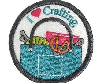 Craft Love Craftbadge craft merit badge
