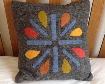 Beautiful Harris Tweed Cushion