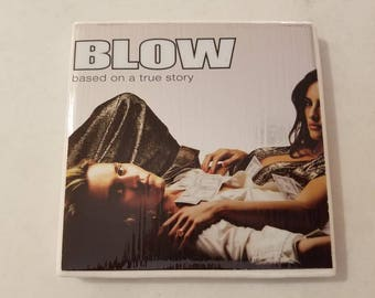Blow (movie) Ceramic Tile Coaster *Johnny Depp*