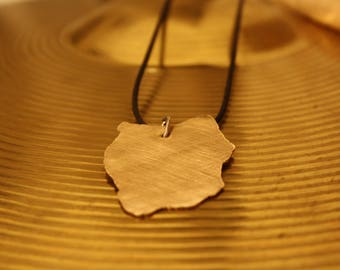 Cymbal necklace - By MusicBitsDesign