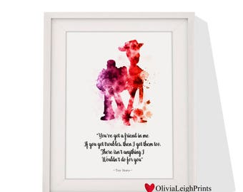 Toy Story Art print Instant Download