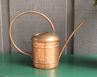 Copper Watering Can, Antique