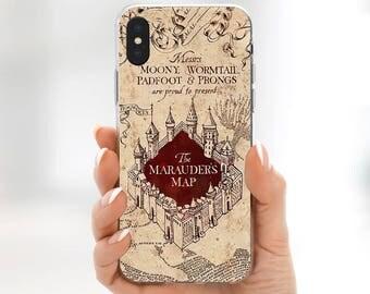 Harry Potter Marauders Map iPhone X case Harry Potter iPhone 8 plus case Harry Potter Map iPhone 7 case Harry Potter iPhone 7 Plus case s8