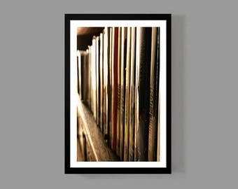 Books & Movies Poster - Weekend Portrait Print - Photography, Classic, Photo, Independent, Fun, Love