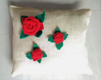 """ROSE"" Pillow"