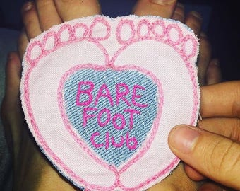 Barefoot club patch