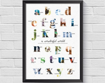 A wonderful world   Poster