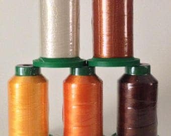 Isacord Embroidery Thread Fall Kit